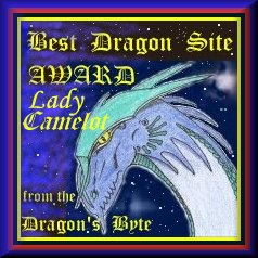 Lady Camelot Dragon Byte Award